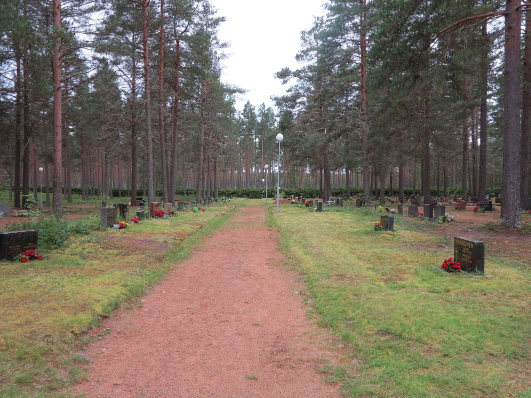 Pulkkilan uusi hautausmaa